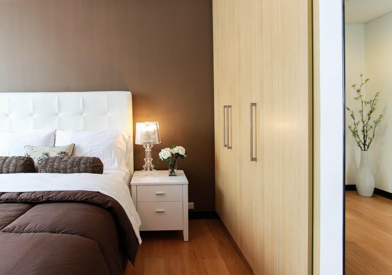 czy lampa z abażurem nadaje się tylko do sypialni?